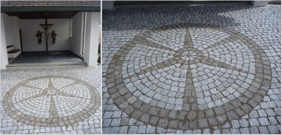 Pflastersteine Runde Muster : Pflastermuster Gonten, Granit 810 und Basalt 811 Für Franz Manser
